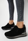 Czarne Sneakersy Euthami