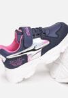 Niebiesko-Różowe Buty Sportowe Halanaestra