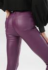Fioletowe Spodnie Skinny Shelara