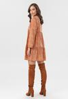Pomarańczowa Sukienka Loraemora