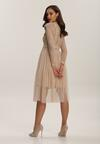 Beżowa Sukienka Jynerris