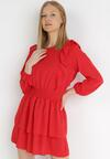 Czerwona Sukienka Winryna