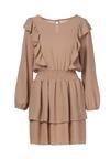 Beżowa Sukienka Winryna