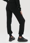 Czarne Spodnie Elinera