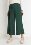 Zielone Spodnie Culottes Azaernixi