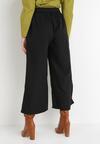 Czarne Spodnie Culottes Azaernixi