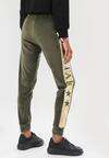 Zielone Spodnie Dresowe Carilraya