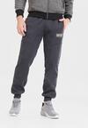 Granatowe Spodnie Kelaith