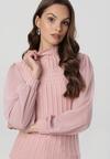 Różowa Bluzka Fyserrelle