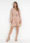 Różowa Sukienka Wysnell