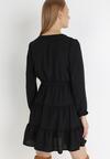 Czarna Sukienka Wysnell