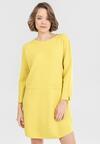 Żółta Sukienka Thelora