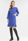 Ciemnoniebieska Sukienka Mezlith
