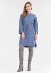 Niebieska Sukienka Mezlith