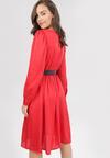 Czerwona Sukienka Carilevera