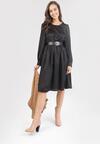 Czarna Sukienka Carilevera