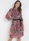 Różowa Sukienka Iphisysha