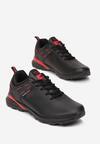 Czarno-Czerwone Buty Sportowe Usinlyss