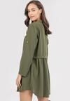 Zielona Sukienka Nemorlienne