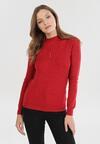 Czerwony Sweter Sharera