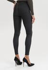 Czarne Spodnie Skinny Daemiana