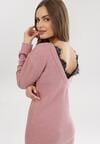 Różowa Sukienka Ryrixis