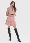 Różowa Sukienka Kellisa