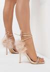 Beżowe Sandały Ornixi
