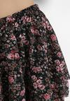 Czarno-Różowa Spódnica Xisorin