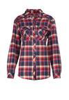 Czerwono-Beżowa Koszula Lynnania
