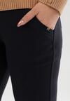 Granatowe Spodnie Glysesh
