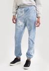 Niebieskie Spodnie Dresowe Qhesanya