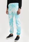 Jasnoniebieskie Spodnie Dresowe Qhesanya