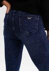 Niebieskie Spodnie Skinny Xenana