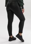 Czarne Spodnie Slim Zaehsyss