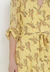 Żółta Sukienka Brizrya