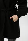 Czarny Płaszcz Jilyra