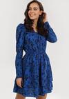 Niebieska Sukienka Drentyse