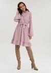 Różowa Sukienka Mezerris
