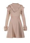 Beżowa Sukienka Qinthine