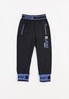 Granatowo-Niebieskie Spodnie Fyryla