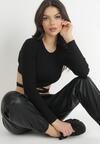 Czarne Spodnie Joggery Glysiesh