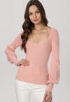 Różowy Sweter Uhrieth