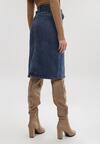 Niebieska Spódnica Carillisa