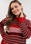 Czerwony Sweter Drenrelle