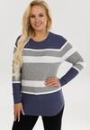 Niebieski Sweter Xylysh