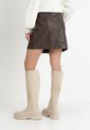 Ciemnobrązowa Spódnica Kelrahne