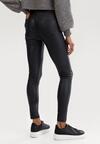 Granatowe Spodnie Skinny Klemene