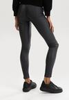 Ciemnoszare Spodnie Skinny Klemene