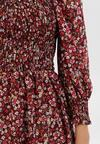 Bordowa Sukienka Fontave